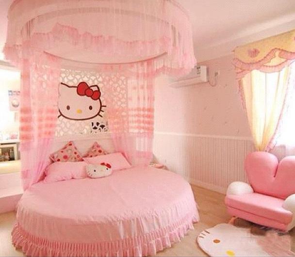 Bilik Tidur Warna Pink