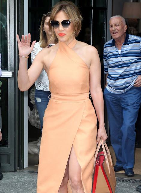 Jennifer Lopez Is Stylish- Out in New York City