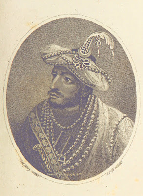 Portrait of Tipu Sultan