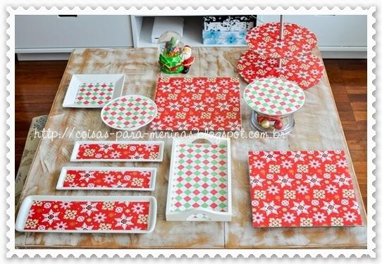 como decorar mesa natal