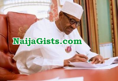 president buhari letter to senate