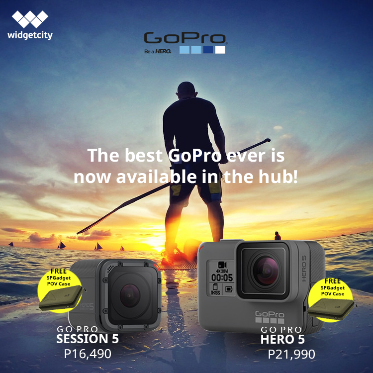Go Pro Hero 5 and Go Pro Session 5 now in the hub!
