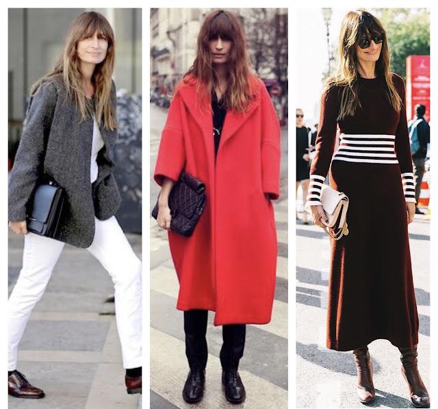 Moje modowe inspiracje kto mnie inspiruje inspirować się jak znaleźć swój styl Bądź paryżanką gdziekolwiek jesteś francuski paryski szyk Caroline de Maigret