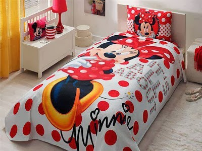 Dormitorio niña Minnie Mouse