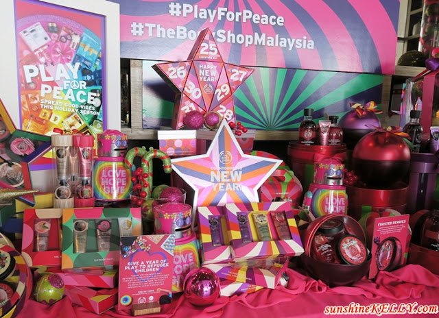 Play For Peace: The Body Shop Christmas 2017 Collection