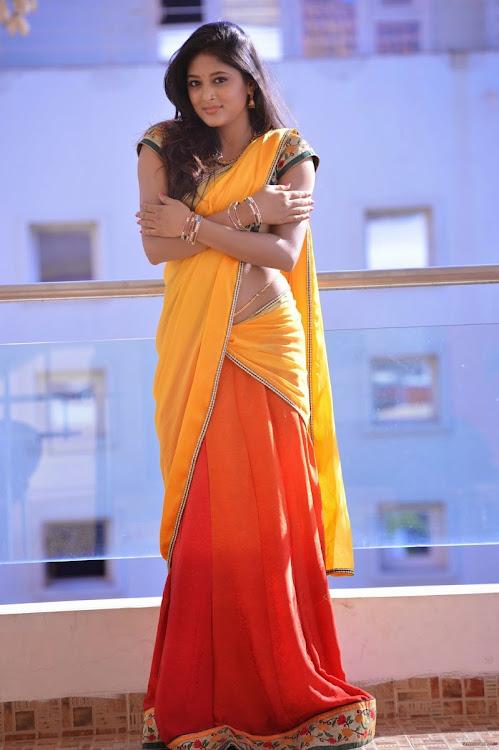 Sushma Raj Half Saree Hot Stills