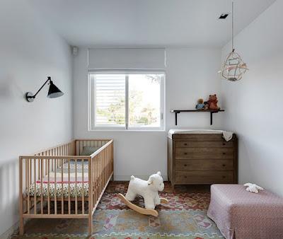 Desain Lucu Interior Kamar Bayi Modern