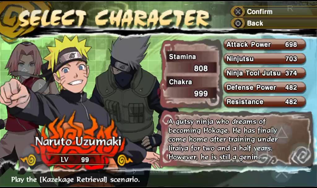 Naruto Shippuden Legends Akatsuki Rising Usa Ulus 10447 Cwcheat Psp Cheats Codes And Hints