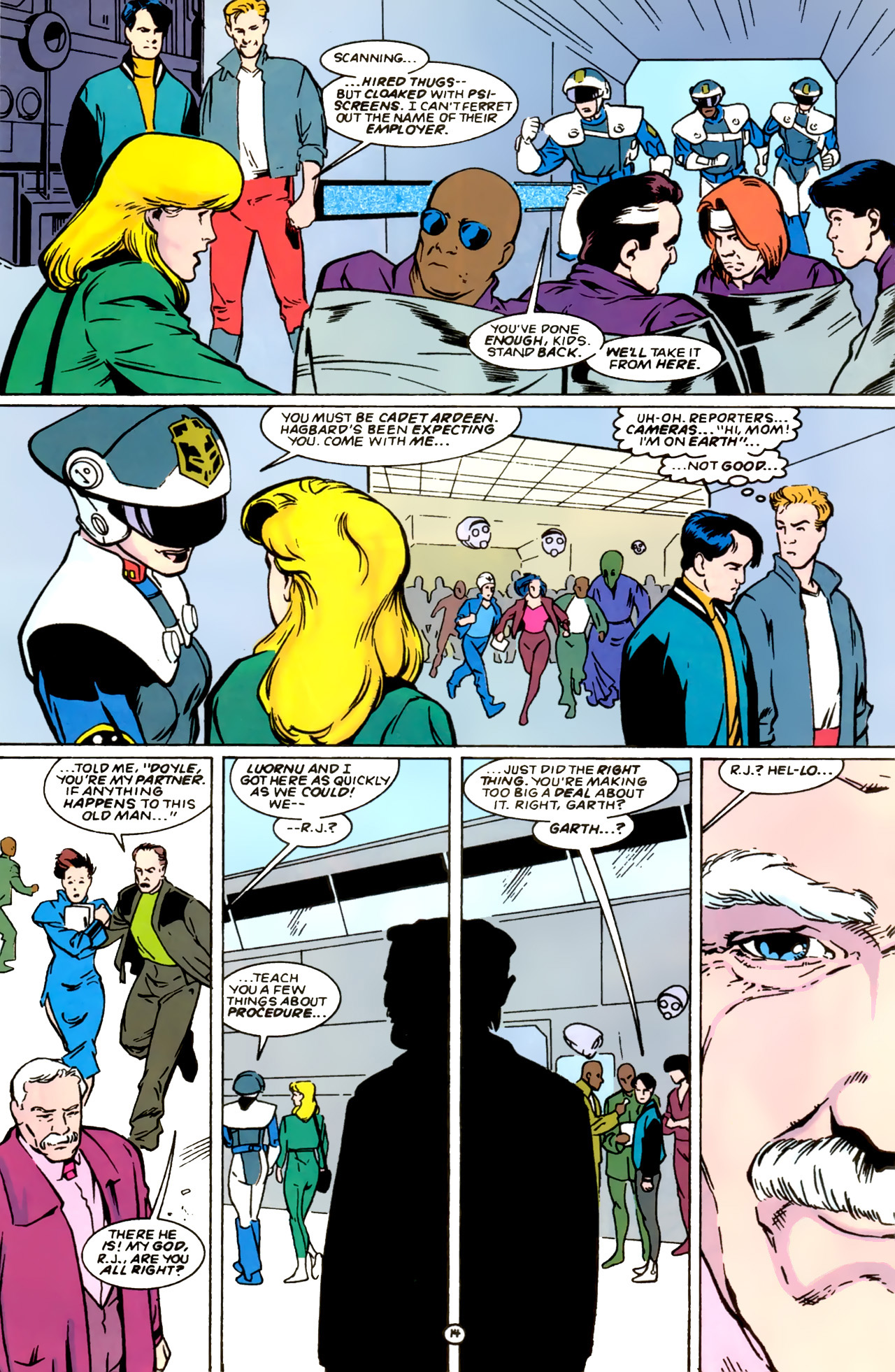Legion of Super-Heroes (1989) 0 Page 14