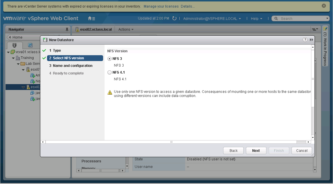 Just one more esxi-guy: vSphere 6 NFSv4 1 Support