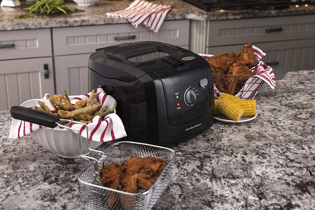 into the air fryer