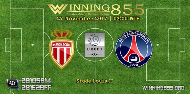 Prediksi Akurat Monaco vs PSG 27 November 2017