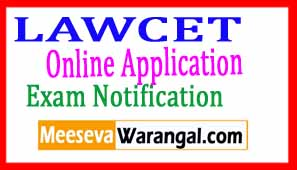 LAWCET 2017 Notification Online Application