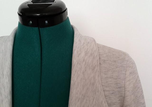 Grainline Morris Blazer detail