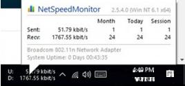Cara Menampilkan Kecepatan Internet di Taskbar Windows 10