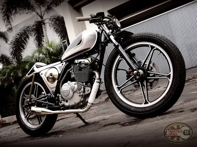 katros suzuki thunder 125 cafe racer ~ return of the cafe racers