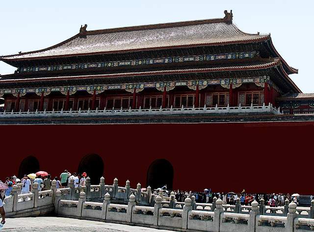 Forbidden City building