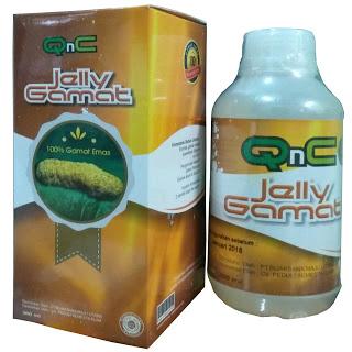 Obat Fibroadenoma Mammae (Benjolan Di Payudara) Herbal QnC Jelly Gamat