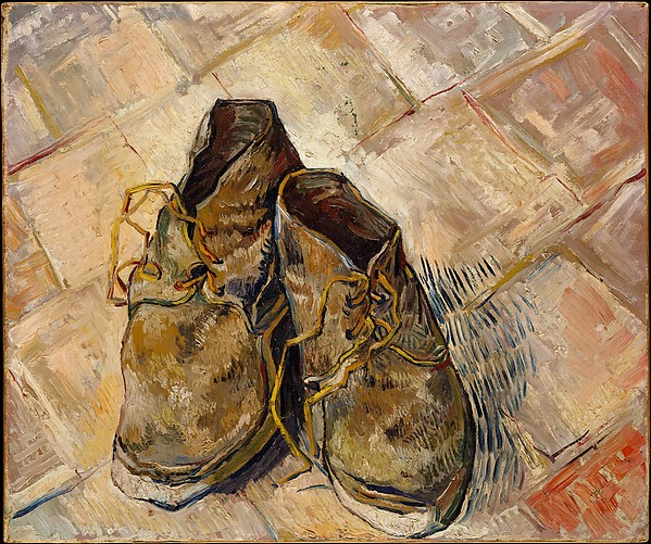 van Gogh. A Pair of Shoes 1888