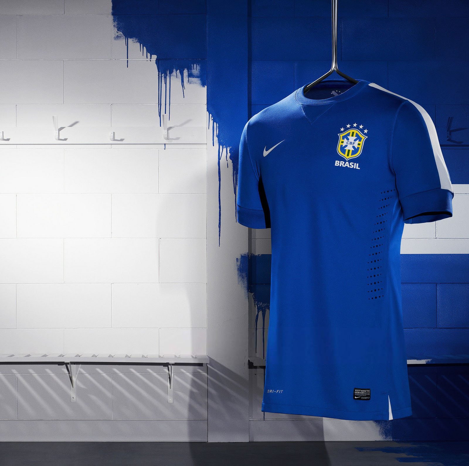 Nike Brazil 2013 Confed Cup Away Shirt Released Footy