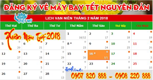 Vé máy bay tết 2018 đi Hải Phòng giá chỉ từ 2.870.000 đồng.