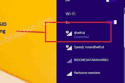 Cara Internetan di Wifi Corner Telkom