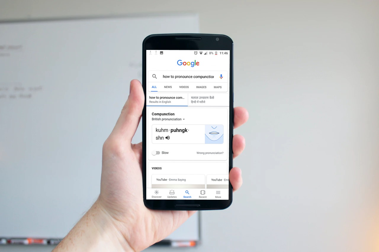 Google Search's New Feature Can Improve Your Pronunciation