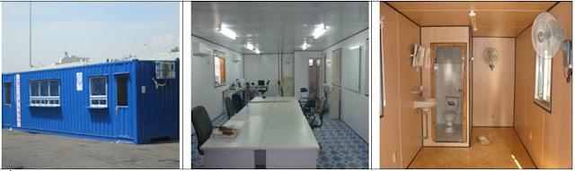 container văn phòng 40 feet có toilet