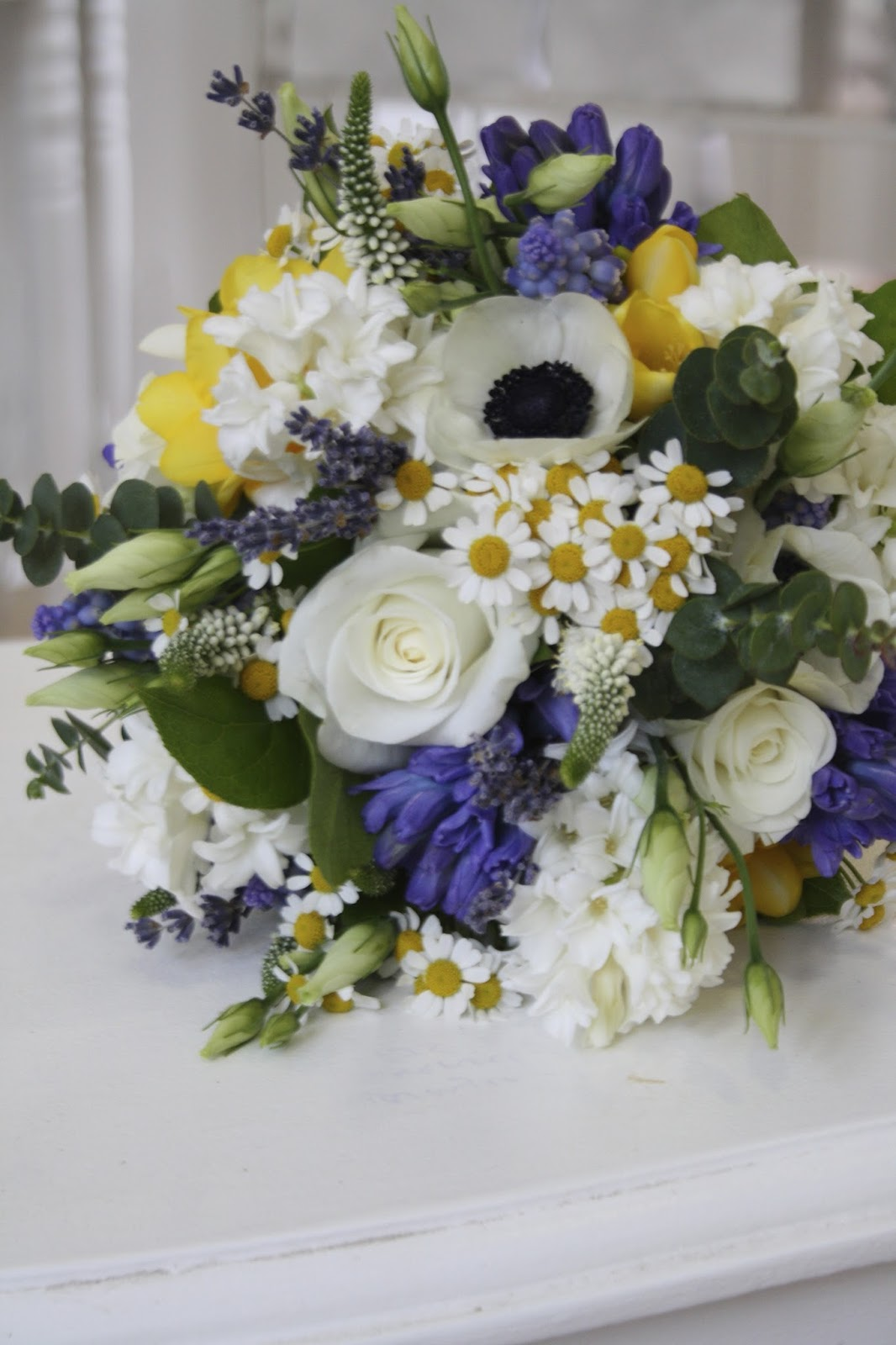 The Flower Magician: Vintage Spring Wedding Bouquet  |Spring Wedding Flowers Bridal Bouquet