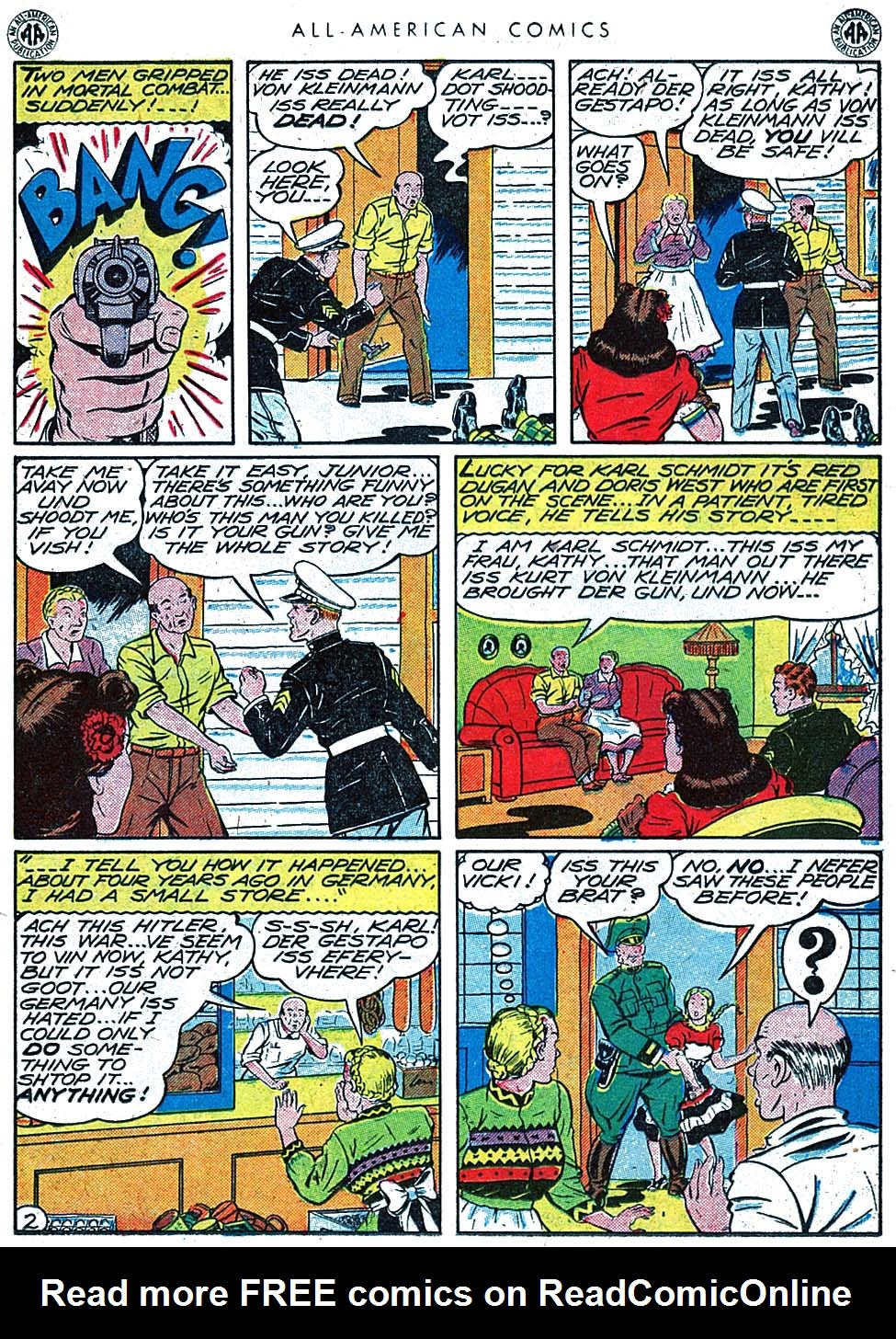 Read online All-American Comics (1939) comic -  Issue #66 - 32