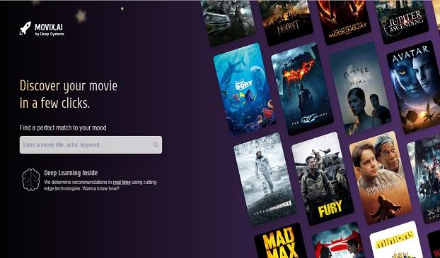 موقع رائع يقدم لك اقترحات حول أفضل الأفلام التي ستنال اعجابك