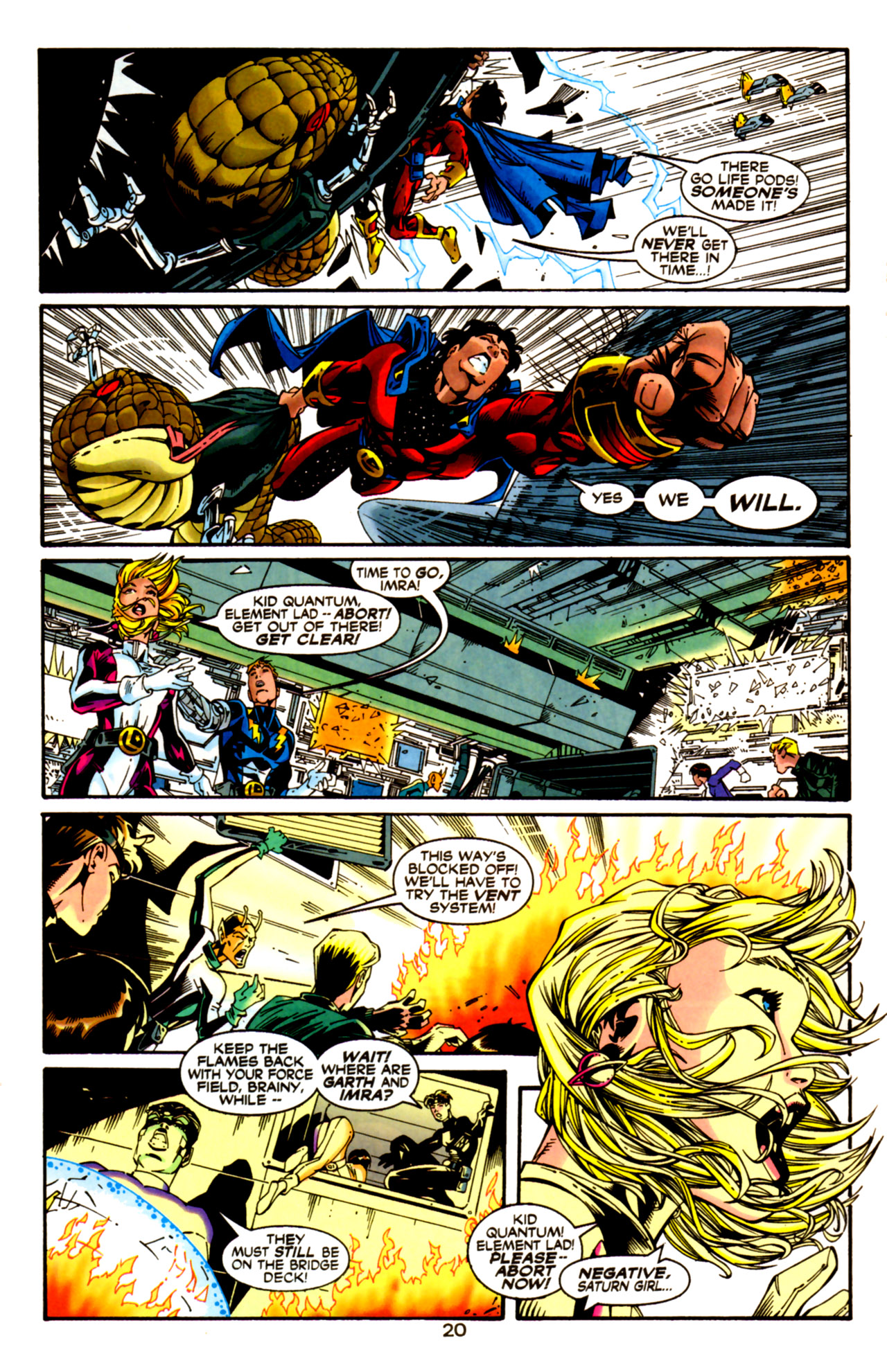 Legion of Super-Heroes (1989) 125 Page 20