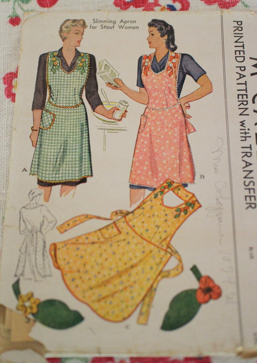 Vintage Apron Patterns Interesting Inspiration Design
