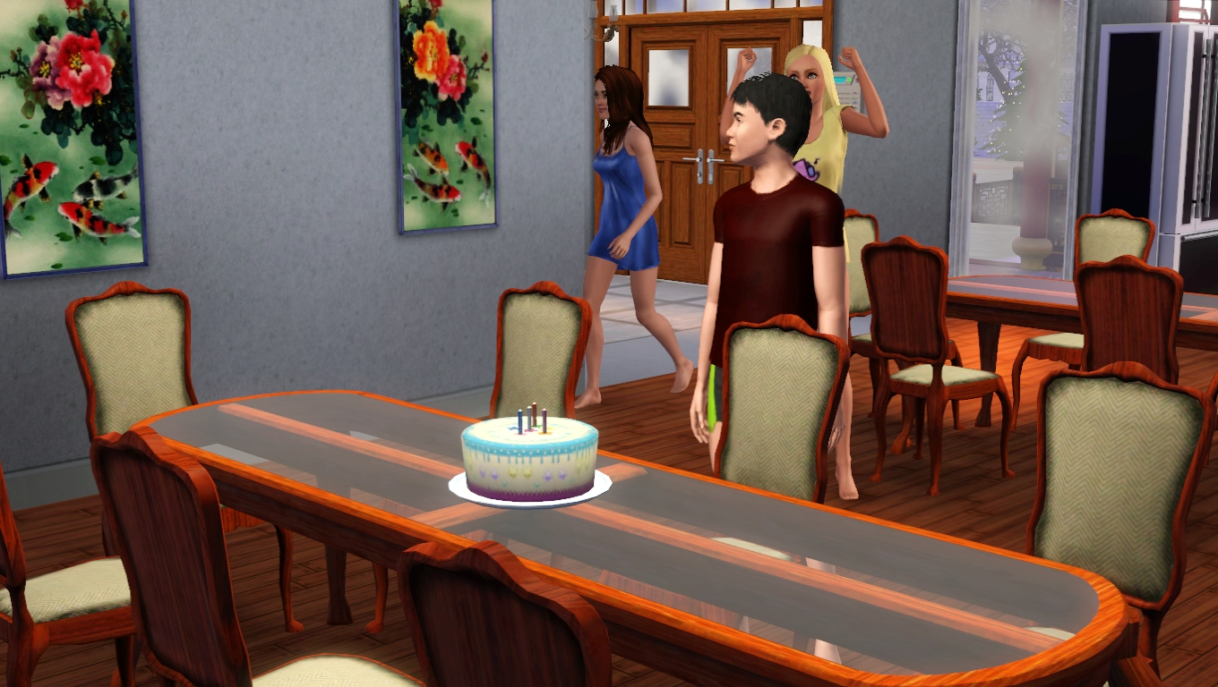 how to put candles on cake sims 4 ps4