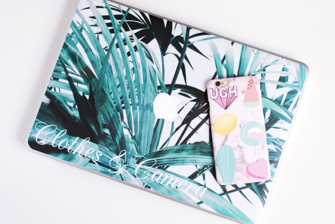 caseapp macbook skin iphone case tropical patches review giveaway
