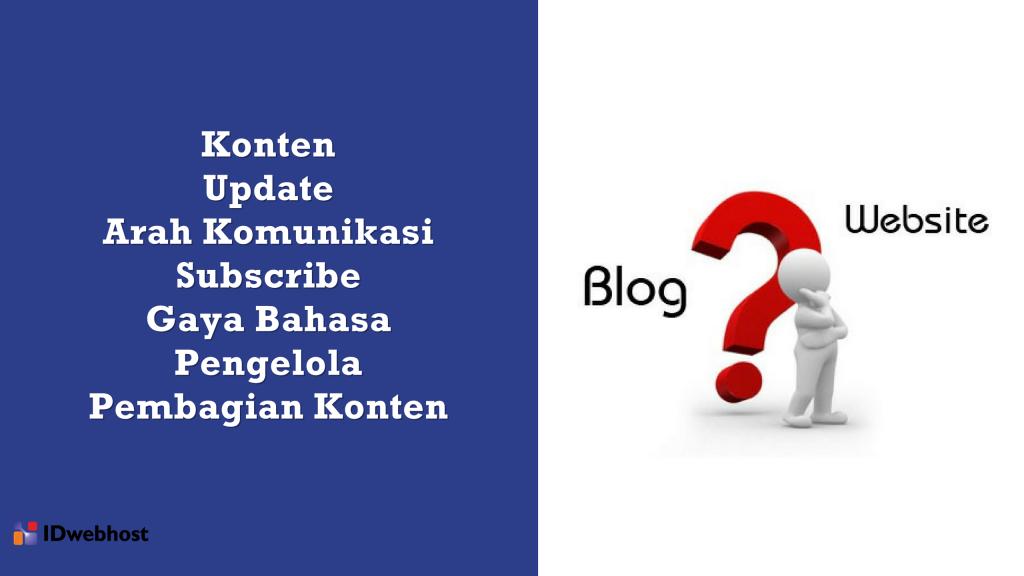 7 Perbedaan Mendasar Antara Website dan Blog - Wisata dan Kuliner