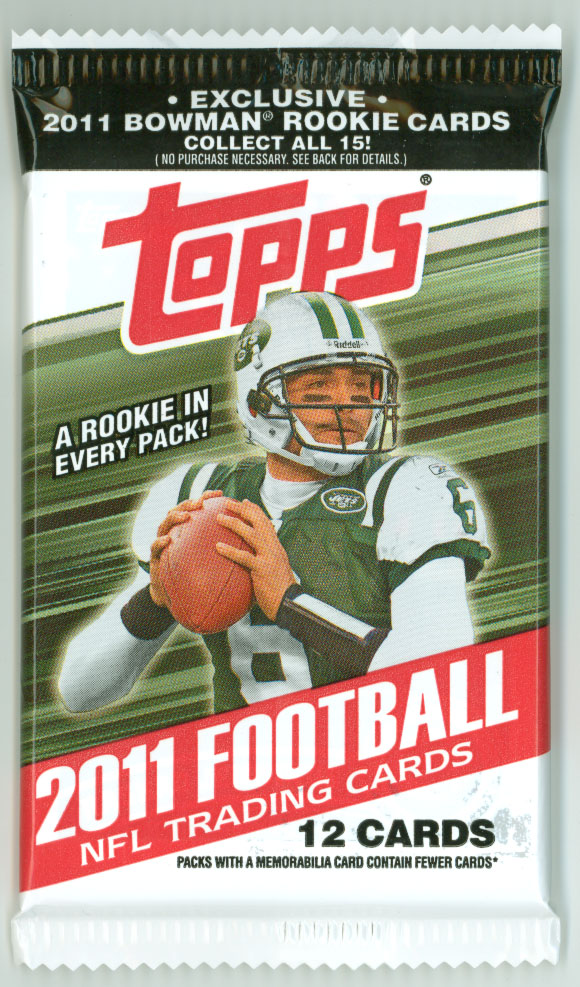 Hey Thats Mine Pack Rip 2011 Topps Football