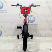 16 element iron man the armored avenger bmx sepeda anak