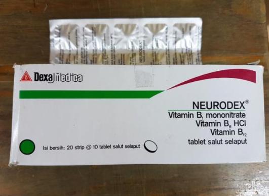 Manfaat Obat Neurodex Tablet Salut Selaput Buat Sakit Apa Aja?