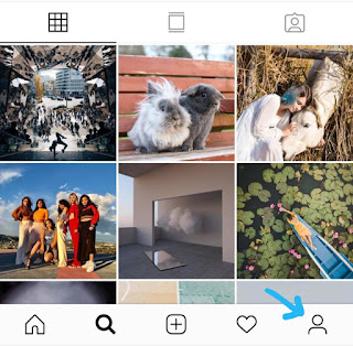 Instagram profile icon