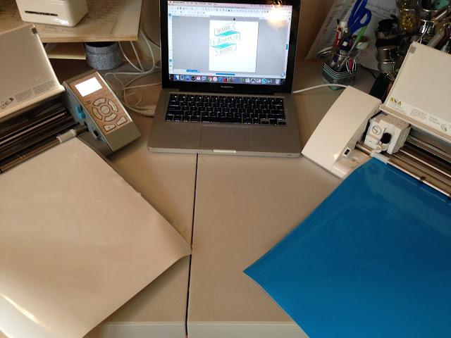 Two Silhouettes, 2 Silhouettes, Silhouette Studio, Silhouette Cameo, vinyl