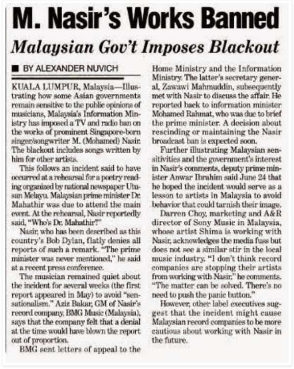 Zaman Mahathir Tak Diktator