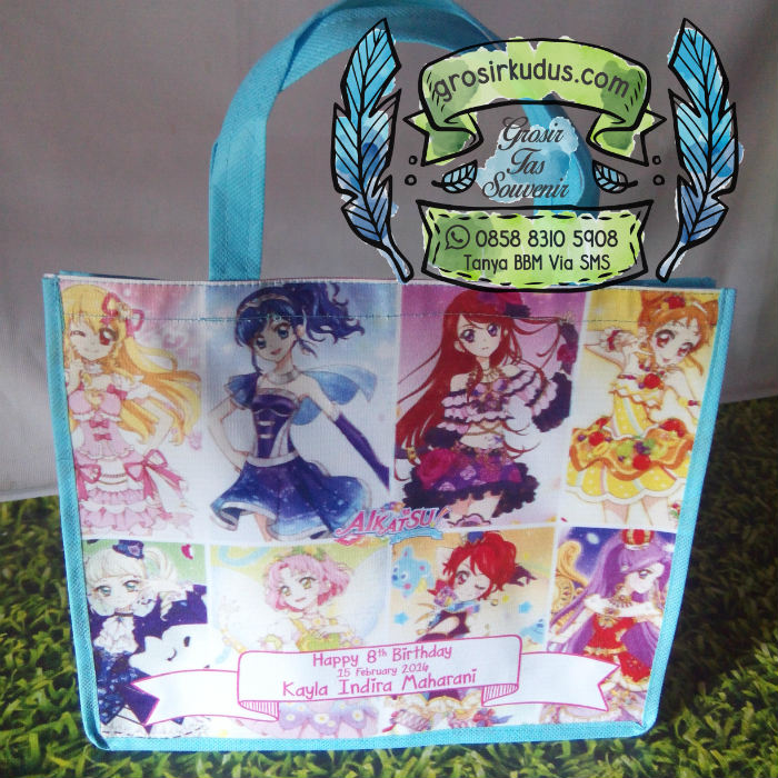 tas souvenir ulang tahun aikatsu
