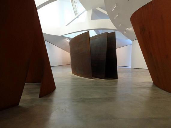 Rebecca Gouldson Metal Art: Richard Serra at the Guggenheim