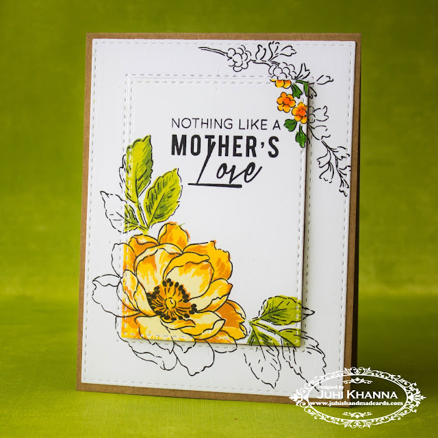 Mother's Day Card using #altenew stamps and inks