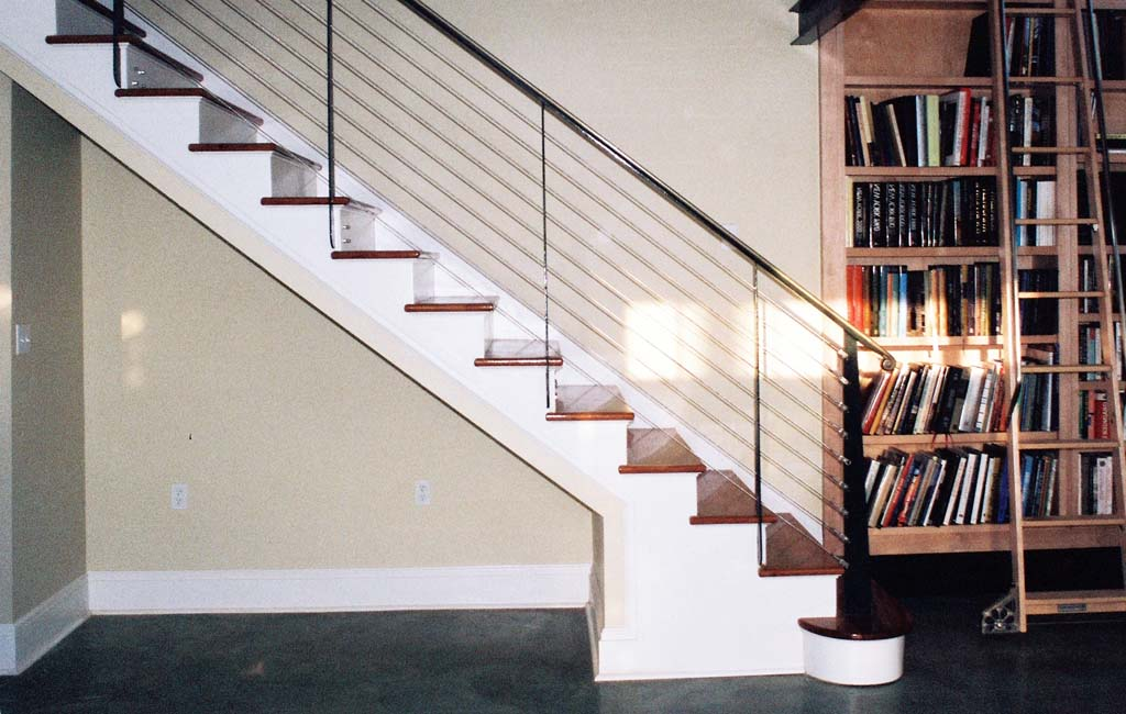 The Numerous Stair Railing Ideas For Your Home Designs Ellecrafts | Staircase Railing Designs For Your Home | Contemporary | Extraordinary | Country Home Interior | Eye Catching | Covered