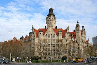 Neues Rathaus in Leipzig
