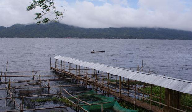 Pemandangan Indah Di Danau Tondano Manado