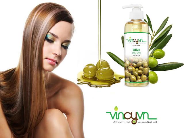 dầu oliu dưỡng tóc khá là tốt
