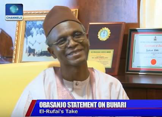 ''I remain a Buharist, till death do us part'' Gov Nasir El-Rufai says, declares President Buhari will win 2019 election